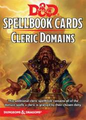 Dungeons & Dragons 5e: Spellbook Cards - Cleric Domains
