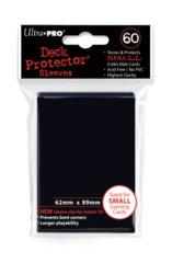 60ct Black Small Deck Protectors
