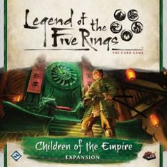 Legend of the 5 Rings Expansion: Children of the Empire