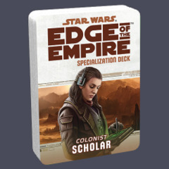Star Wars: Edge of the Empire Specialization Deck - Colonist: Scholar