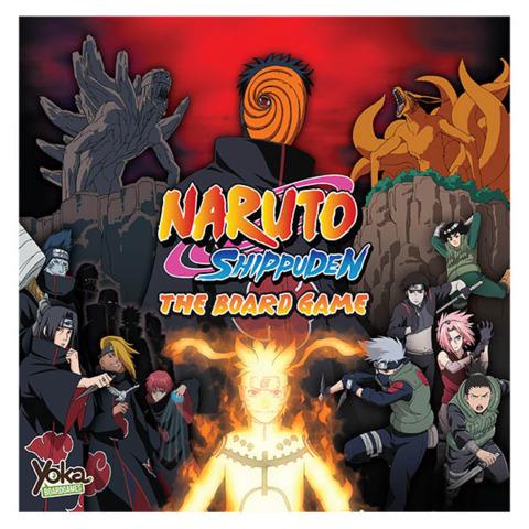 Naruto Shippuden The Board Game - Board Games - Magic