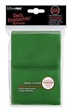 100ct Green Standard Deck Protectors