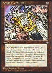 Arcum's Whistle