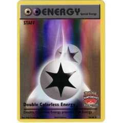 Double Colorless Energy - Latin America Staff Promo