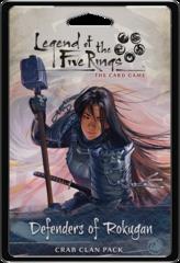Legend of The 5 Rings Crab Clan Pack: Defenders of Rokugan