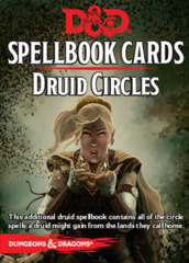 Dungeons & Dragons 5e: Spellbook Cards - Druid Circles