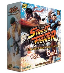 UFS Street Fighter CCG Chun Li Vs Ryu 2 - Player Starter Deck