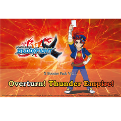 Future Card Buddyfight Ccg: Booster - Overturn! Thunder Empire! - Booster Box