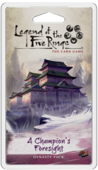 Legend of The 5 Rings Dynasty Pack: A Champion's Foresight