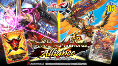 Future Card Buddyfight Ccg: Trial Deck V-3 - Thunderous Warlords Alliance