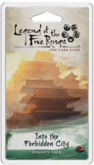 Legend of the 5 Rings Dynasty Pack: Into the Forbidden City