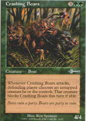 Crashing Boars