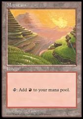 Mountain - APAC Set 1 (Red Pack)