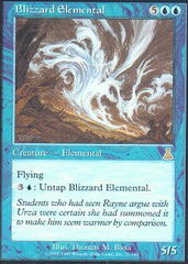 Blizzard Elemental - Foil