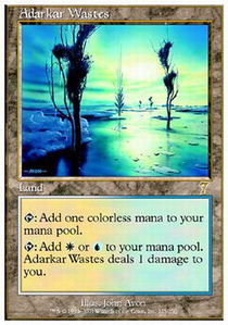 Adarkar Wastes - Foil