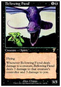 Bellowing Fiend - Foil