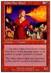 Ghitu Fire-Eater - Foil