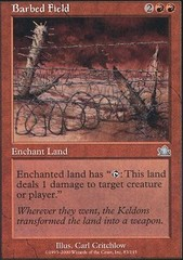 Barbed Field - Foil