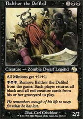 Balthor the Defiled - Foil