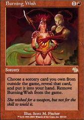 Burning Wish - Foil