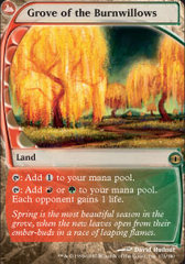 Grove of the Burnwillows - Foil
