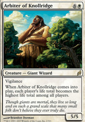 Arbiter of Knollridge - Foil