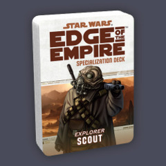 Star Wars: Edge of the Empire Specialization Deck - Explorer: Scout