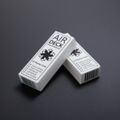 Air Deck Playing Cards - White