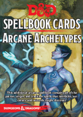 Dungeons & Dragons 5e: Spellbook Cards - Arcane Archetypes