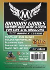 88mm x 125mm Mayday Games Sleeves - Tiny Epic Kingdoms