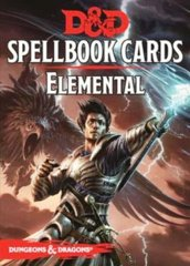 Dungeons & Dragons 5e: Spellbook Cards - Elemental