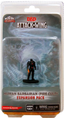 D&D Attack Wing: Human Barbarian (Fire Cult)
