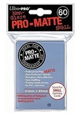 60ct Pro-Matte Clear Small Size Deck Protectors