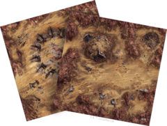 Star Wars Legion: Game Mat - Desert Runes