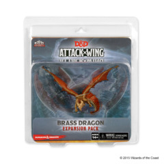 D&D Attack Wing: Brass Dragon
