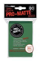 60ct Pro-Matte Green Small Size Deck Protectors