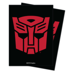 100ct Transformers TCG Sleeves - Autobots