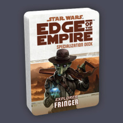 Star Wars: Edge of the Empire Specialization Deck - Explorer: Fringer