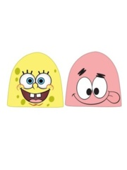 SPONGEBOB - Reversible Face Magic Jaquard Beanie Yellow Pink