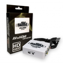 Old Skool - Av to HDMI converter