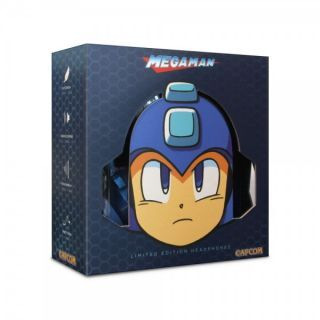Mega Man Headphones (Limited Edition Blue) - Officially Licensed By Capcom