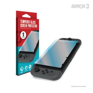 Tempered Glass Screen Protector For Nintendo Switch® (Single - Pack) - Armor3