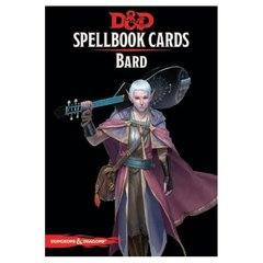 Dungeons & dragons Spellbook Cards - Bard