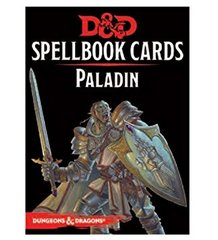Dungeons & dragons Spellbook Cards - Paladin