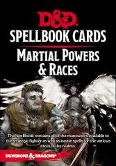 Dungeons & dragons Spellbook Cards - martial powers & Races