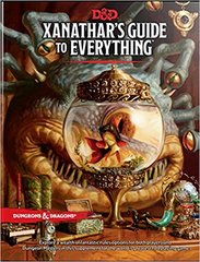 Dungeons & dragons 5th ed Xanathar's Guide to Everything