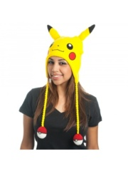 POKEMON - PIKACHU EMBROIDERED LAPLANDER YELLOW