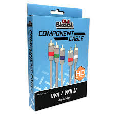 Old Skool-Component Cable- Wii / Wii U