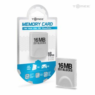 16MB Memory Card For Wii® / GameCube® - Tomee
