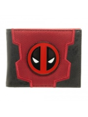 MARVEL - DEADPOOL - LAYERED MATERIALS WALLET RED / BLACK
